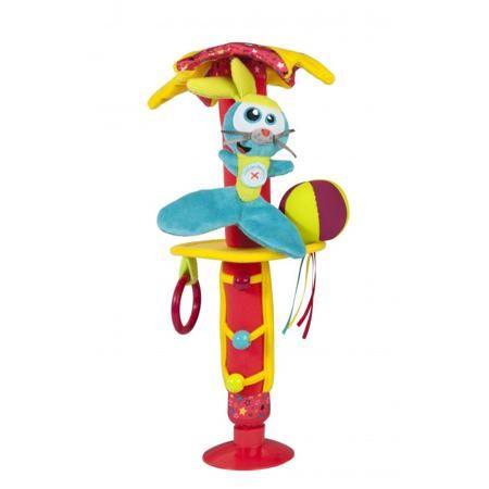 Babymoov Игрушка на присоске в автомобиль  — 1350р. ------------ Игрушка на присоске в автомобильмарки Babymoov. Развивающую игрушку можно прикрепить к окну автомобиля или стульчику для кормления, она будет развлекать вашего малыша и помогать в развитии. Яркая игрушка с погремушкой, шуршащими элементами, лентами и кольцами, а также дополнена подвижными деталями. Материал: полиэстер; Размер: 5 х 38 см.
