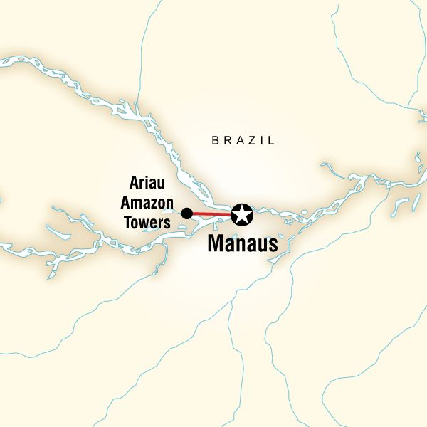 4 days in amazon hotel tower