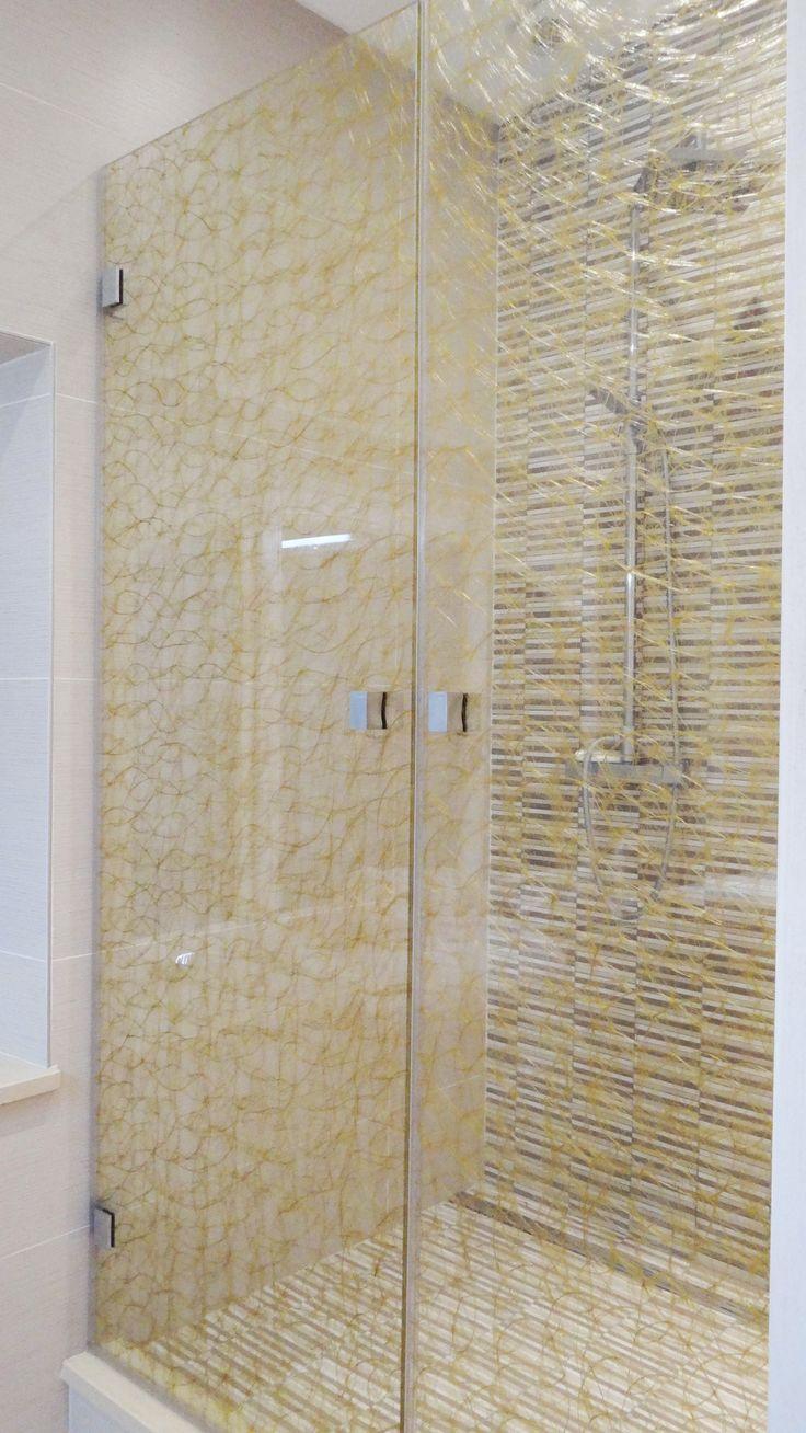 17 meilleures id es propos de pare douche sur pinterest - Porte de douche en verre ...