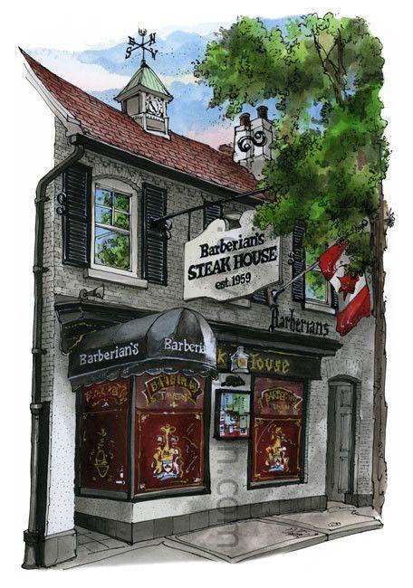 Barberians Steak House, Toronto by David Crighton – David Crighton Art