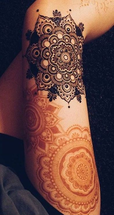 UNIQUE HENNA TATTOOS BECOME THE TREND IN SUMMER – Page 8 of 71