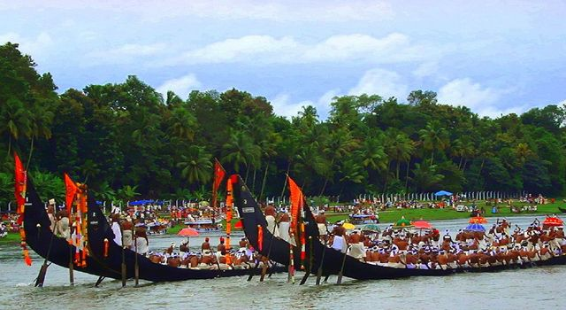 Kerala, India. If there's one festival when Kerala's swaying green palms and blue waters turn into a riot of colours, it's Onam. Celebrations include grand fireworks and colourful spectacles across Kerala, including the capital Thiruvananthapuram, Kochi and Kozhikode.
