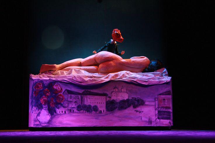 """spektakl """"Hommage à Chagall""""  reż. A. Weltschek więcej informacji: http://www.groteska.pl/spektakl/hommage-chagall  fot. Ł. Malinowski"""