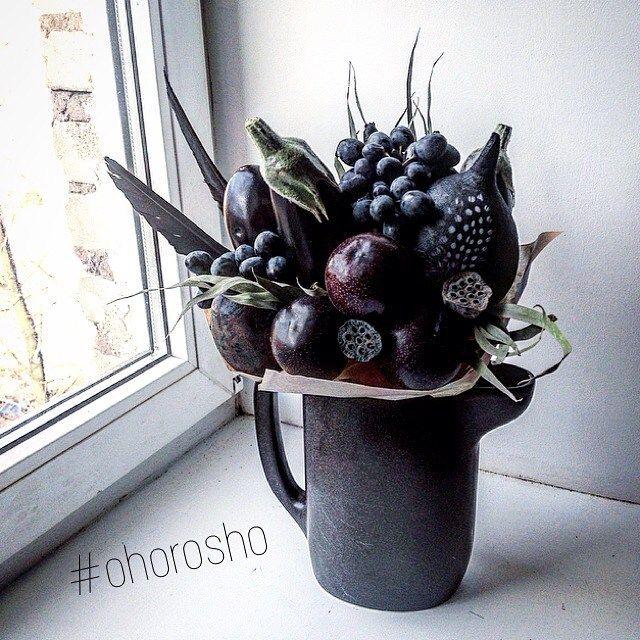 У каждой женщины должен быть маленький черный букет ✨ #ohorosho