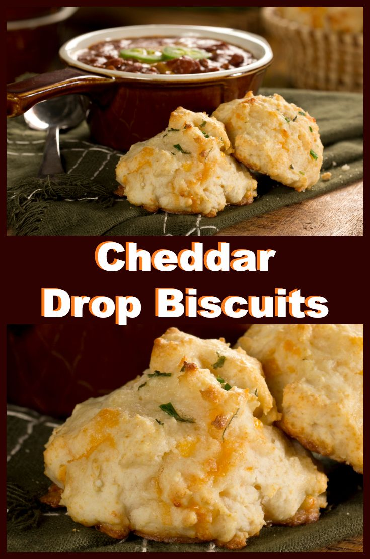 Make cheesy biscuits just like they do at your favorite restaurant with this easy recipe!