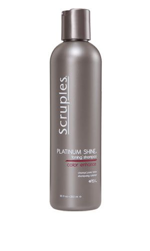 Enhance your color with Scruples // PLATINUM SHINE
