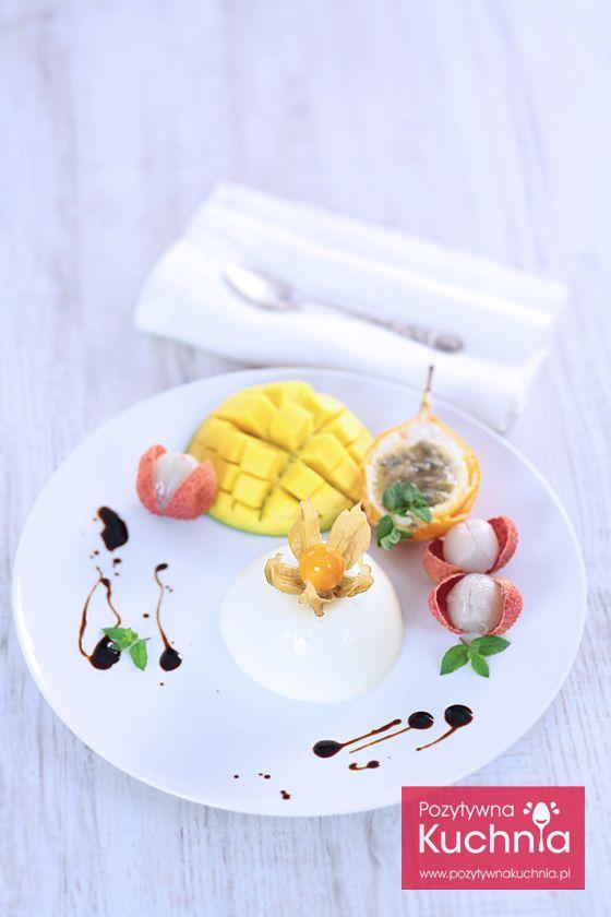 #deser panna cotta - #przepis na pyszny, włoski, prosty przysmak  http://pozytywnakuchnia.pl/panna-cotta/  #kuchnia