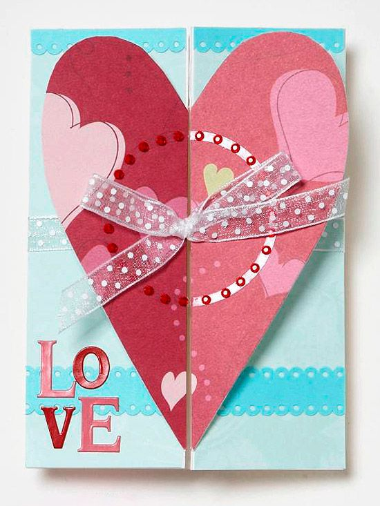 Attractive A Giant Heart On This Valentineu0027s Day Card Is An Unmistakable Way To Show  Your Love Nice Look
