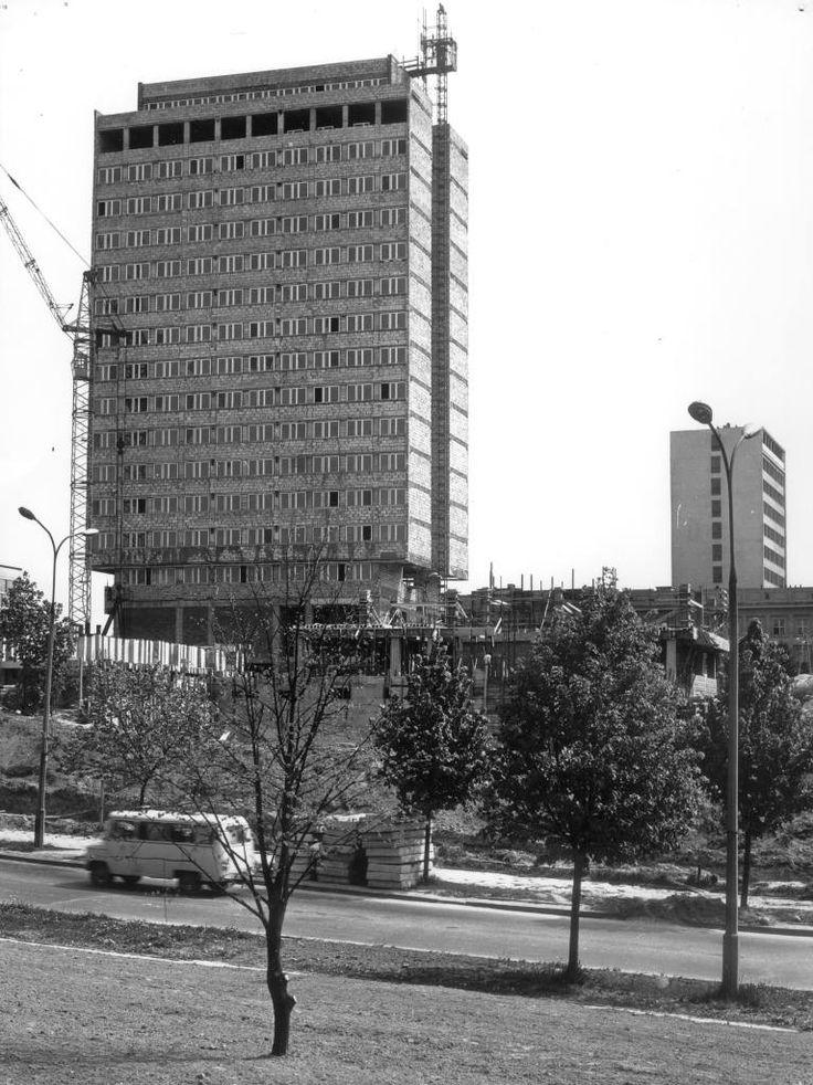 Budowa gmachów Rektoratu, Ekonomii, Prawa oraz Auli Uniwersyteckiej UMCS (projekt Stanisława Fijałkowskiego)