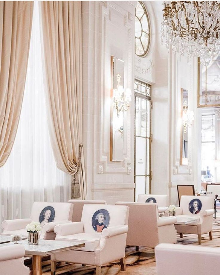 Salon at Le Meurice Hotel, Paris