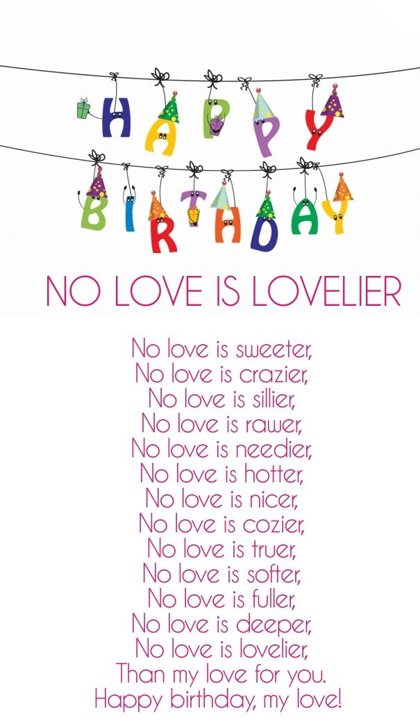 happy birthday love poems for boyfriend