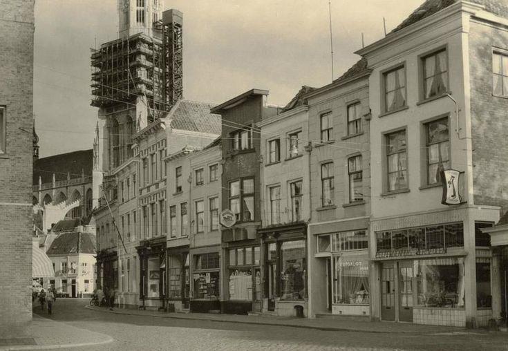Breda Breda De Vismarktstraat in 1956