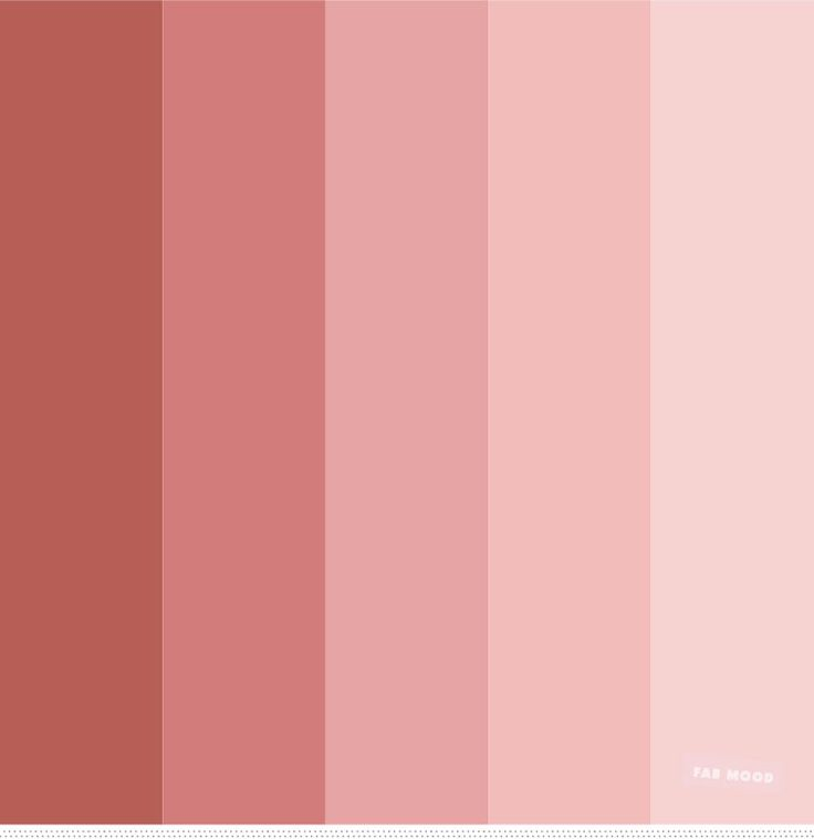 Neutral + pink and shades of redwood color palette | Coral ...