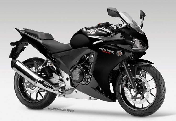 2013 CBR 500 R. Just love this bike. Come on summer