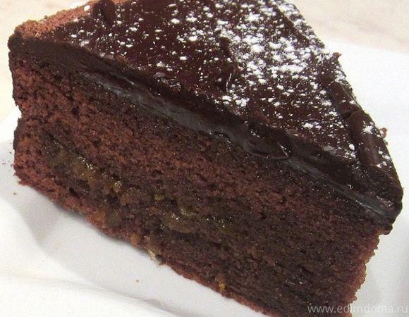 "Знаменитый шоколадный торт ""Захер"""