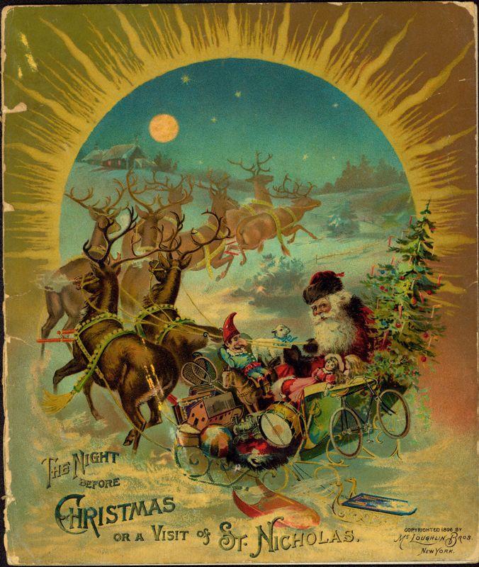 Twas The Night Before Christmas, 1896, McLoughlin Bros