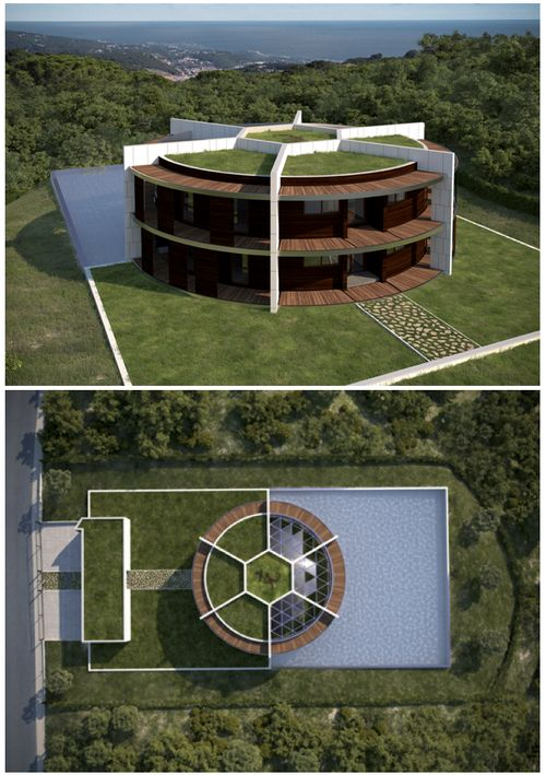 Lionel Messi's soccer ball house