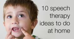 Helping a toddler with a speech delay - I wanted to give you 10 speech therapy ideas to do at home because you, as the parent, are your child's best teacher. I am a play therapist, so I work with many speech-delayed children birth-age 3 and these activities work great with them.