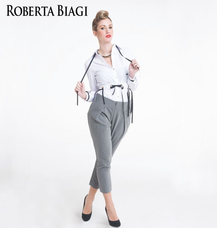 Perfect Spring Outfit by Roberta Biagi New Collection
