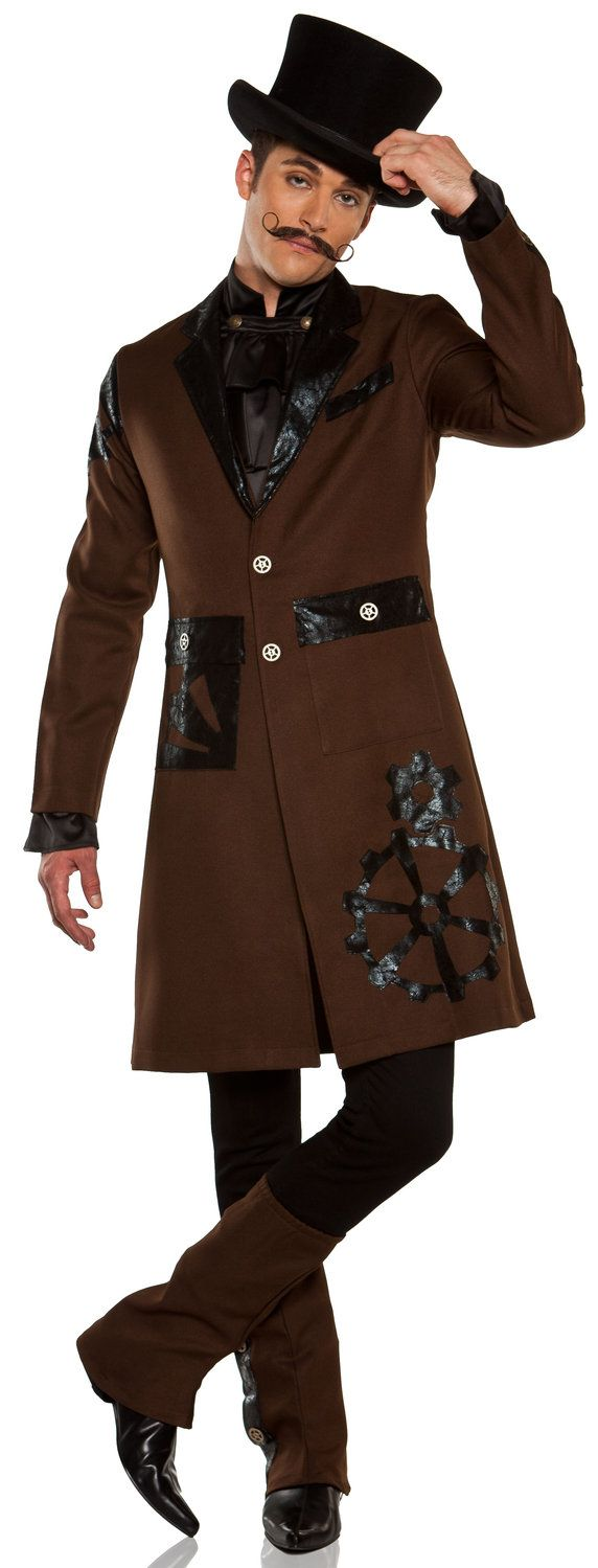 Steampunk Costume | ... Steampunk Captain Adult Costume Historical Costumes - Mr. Costumes (Charming)