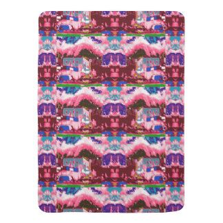 Baby Blanket  Fantasy Graphics Abstracts Colorful