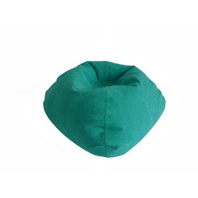 X Rocker Bean Bag Chair Upholstery Turquoise