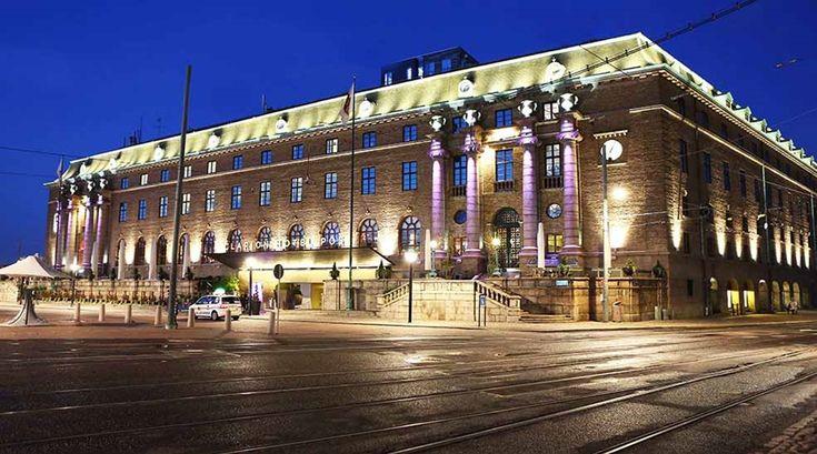 Gothenburg's Spa/designer hotel with rooftop poo…