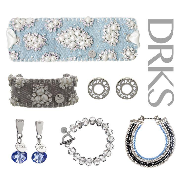 Kennen jullie de luxe sieraden van #DRKS al? Dit echt iets anders, totaal nieuw! In de ontwerpen gebruikt DRKS veel delicate materialen, zoals parels, kristal, glas en vilt. Daarnaast maakt DRKS in haar eerste collecties gebruik van silver plated metaal en sterling zilver. Het enige dat DRKS nooit in haar ontwerpen verwerkt is nikkel.
