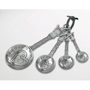 Ganz Measuring Spoons Set - AngelSpoons Sets, Angels Spoons, Measuring Spoons, Ganz Measuring