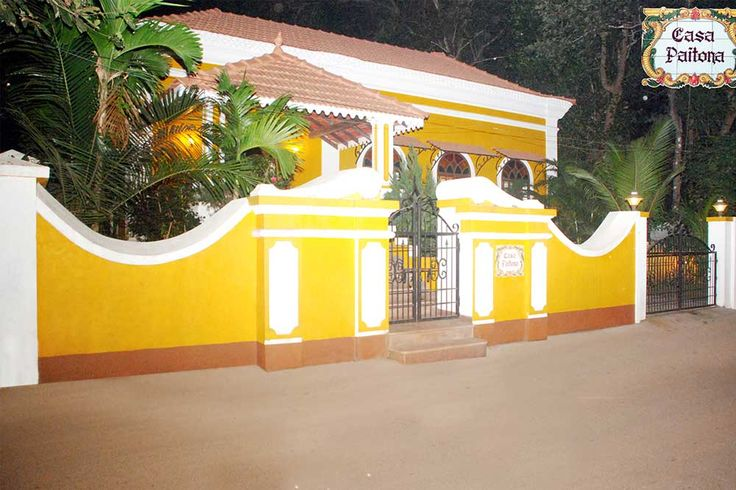 Ah, the stories this home would tell if this Historic 1826 built Portuguese houses could talk! Known as CASA PAITONA located in eternal summer of the tropics in Goa, India.  #Nagpal Builders #Holiday #Home #Goa Properties #Antique #Historical #Luxury