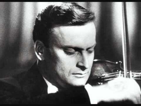 """Yehudi Menuhin """"Violin Concerto D Major, op. 61"""" (1. Mov.) Beethoven"""