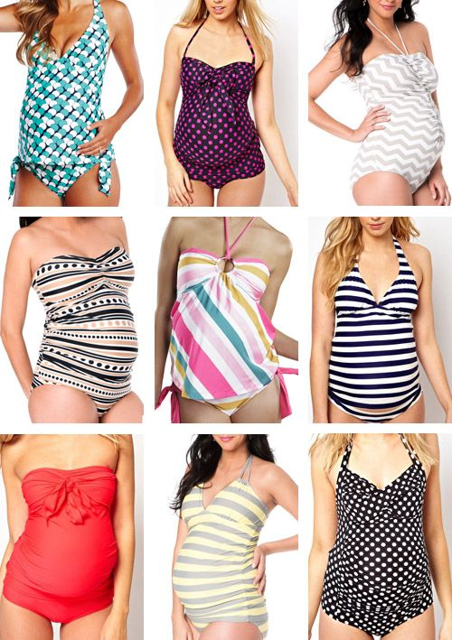 Cute maternity bathing suits - for the next pregnancy!