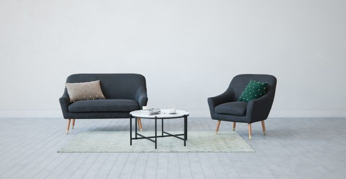 Introducing The Josef 2 Seater Sofa A Sweeping And Sumptuous Beauty With Curved Lines And Rounded Edges New F Small Sofa Designs 2 Seater Sofa Coffee Table