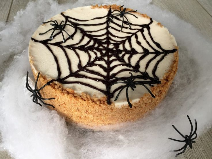Recept: Halloween Kokos Cheesecake (Gluten- en lactosevrij)