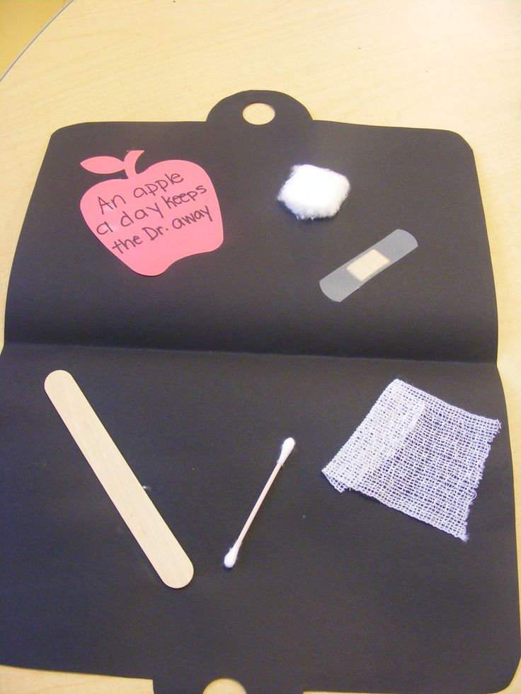 Easy Breezy: Preschool Crafts At the end of art, the kids will know what a first aid kit is used for and know what items to put in it. Description from pinterest.com. I searched for this on bing.com/images