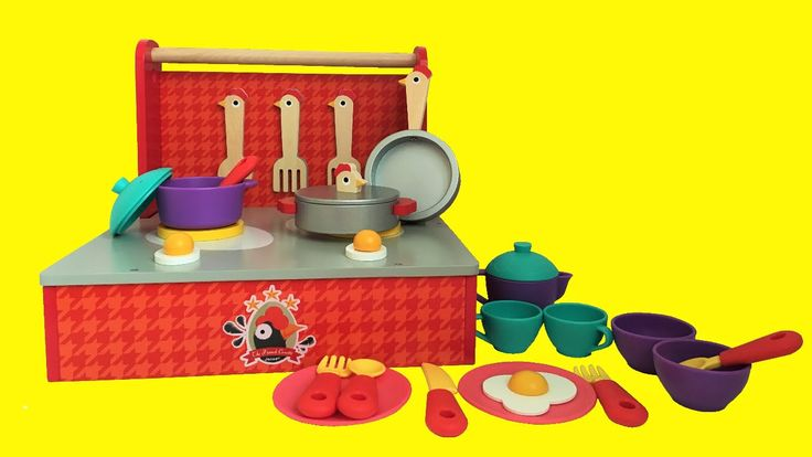 Kitchen Toys Baby Fried Eggs | Toy Kitchen Set Cooking Playset For Child...