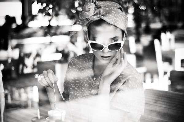 This Aleksandra Zaborowska Photoshoot is Vintage-Themed #coffee #coffeedrinkers trendhunter.com