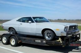 1973 Ford Torino Fastback Muscle Car by robot9000 http://www.musclecarbuilds.net/1973-ford-torino-fastback-build-by-robot9000