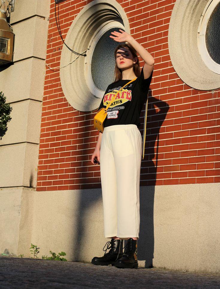 Pantalones blancos en invierno: guía de estilo- Martina Lubián