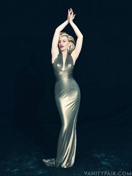 I want this dress!!!! Exclusive Photos: Elizabeth Banks as Marilyn Monroe | Hollywood | Vanity Fair