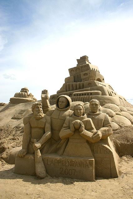 Sand sculpture - Lappeenranta