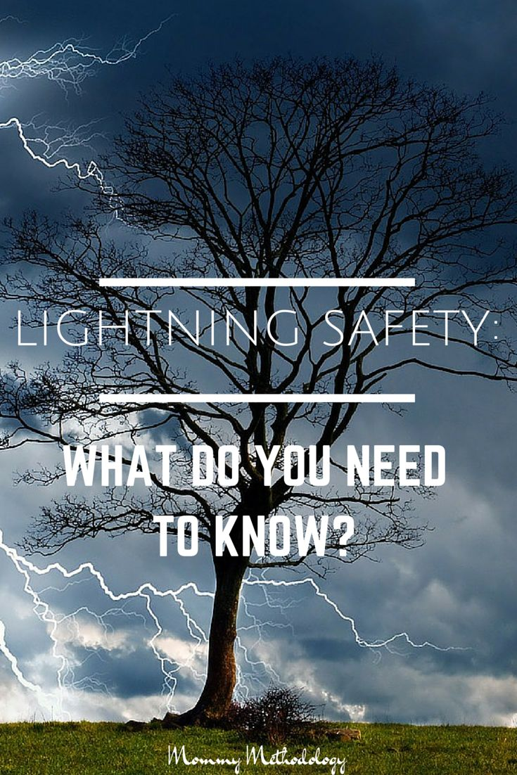 Lightning Safety- What Do You Need to Know?  New findings on Lightning Safety struck a cord.