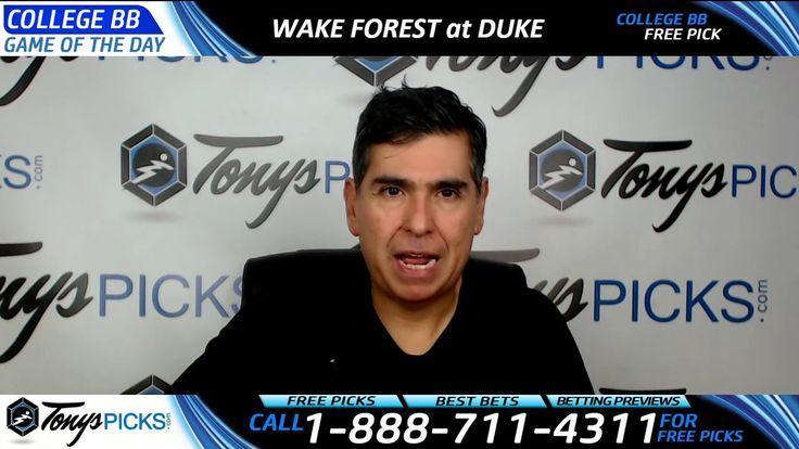 Wake Forest Demon Deacons vs. Duke Blue Devils Free NCAA Basketball Pick...