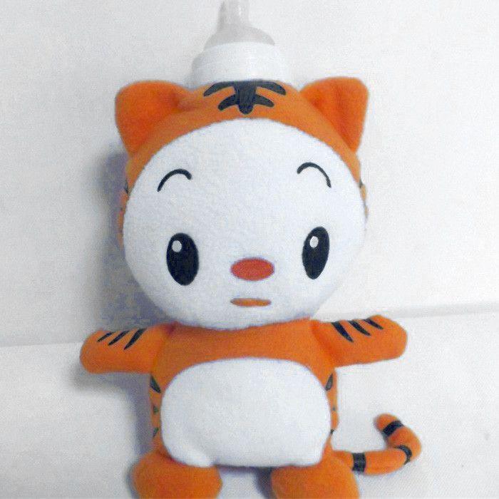 Baby Feeding Bottle Insulation Bag Animal Plush Toy Thermal Bag for Baby Bottles Bolsa Termica Thermos Baby Bottle Holder