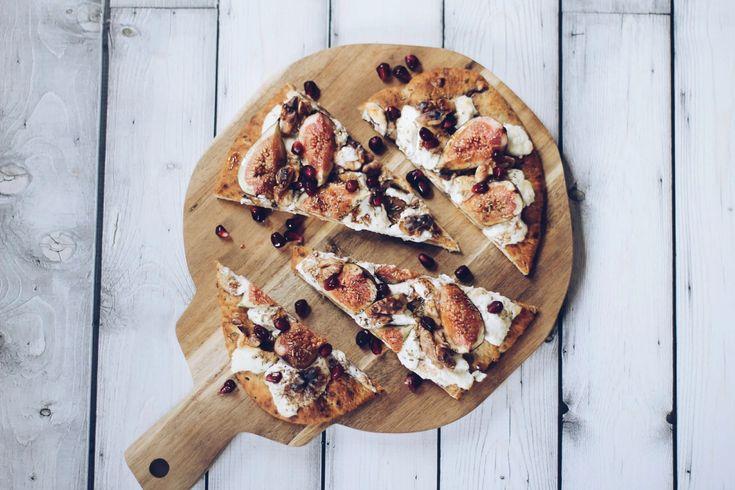 geitenkaas-vijgen-pizza
