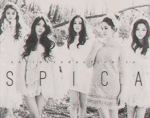 #spica: Solo Group, Spica Gal, Floral Design, Girls Group, Kpop Girls, Female Photography