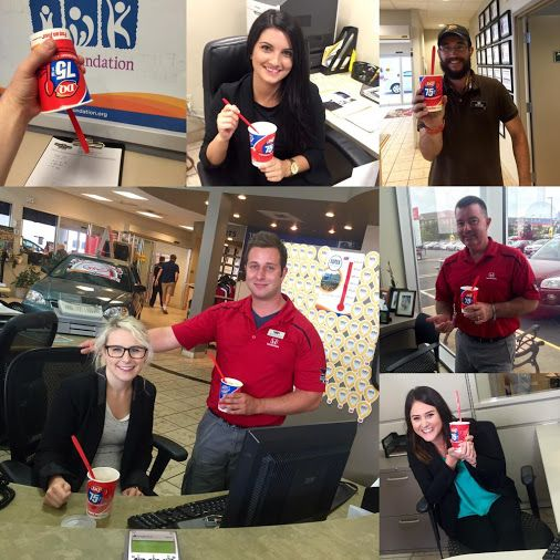 Happy #MiracleTreatDay everyone! Head over to #DQ today, every blizzard treat benefits the #iwk!! http://t.co/04QP6mmURT