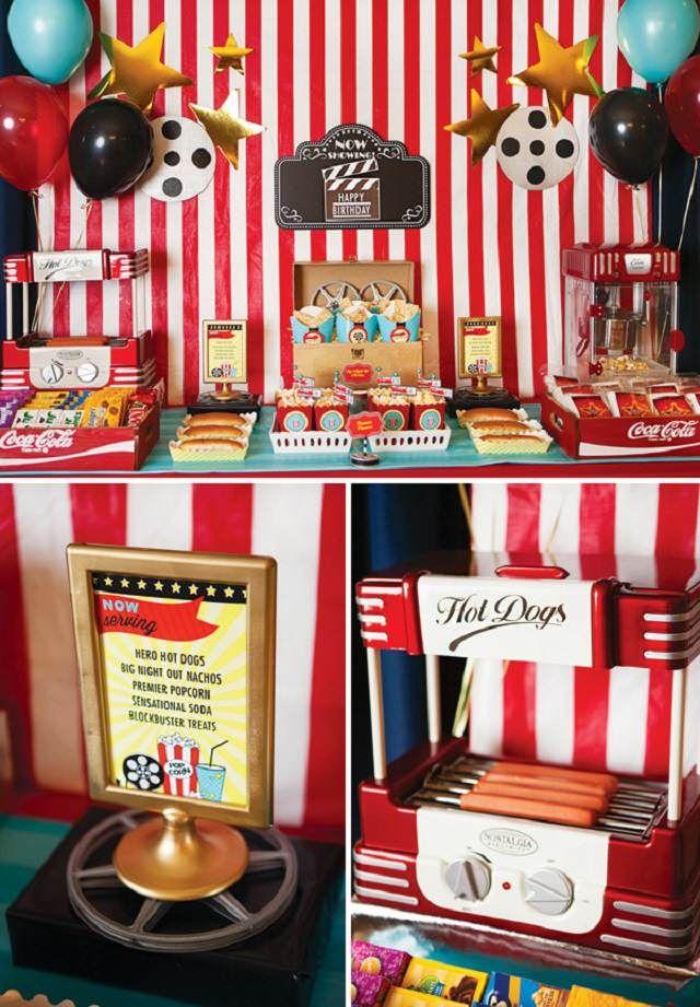 decoración temática de fiestas: películas modernas