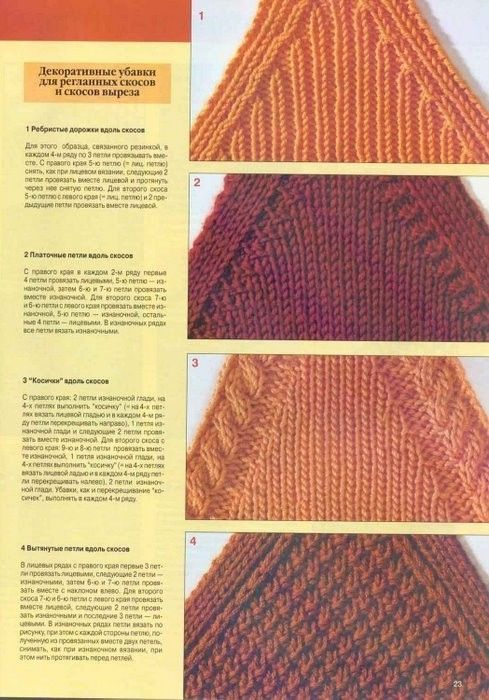 Knitting How To Increase Stitches Evenly Across A Row : 349 best Knitting images on Pinterest Knitting stitches, Stitch patterns an...