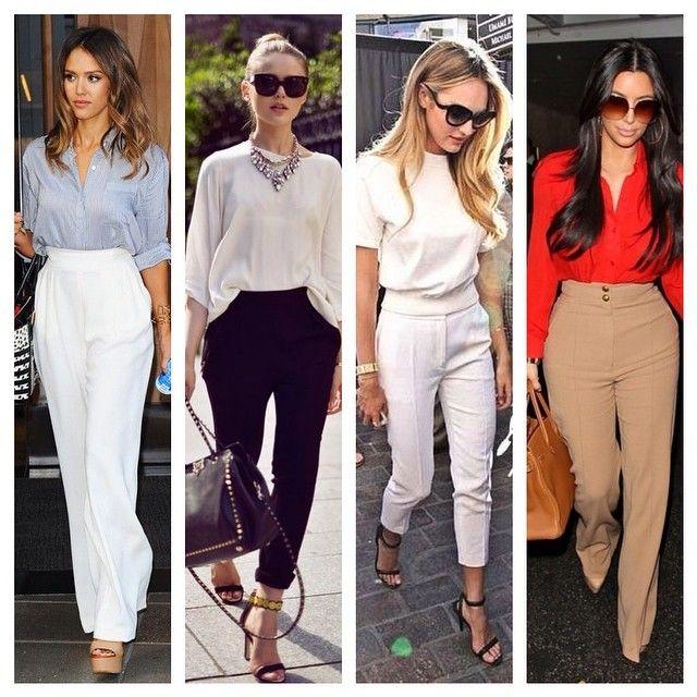 Bom dia! A calça com cintura alta é bacana em vários modelos e funciona bem em diferentes tipos de corpo, dos curvilíneos (a la Kim Kardashian ) aos mais magrinhos! #advoguettes #workoutfit #lookdodia #lookdetrabalho #executivas #ootd